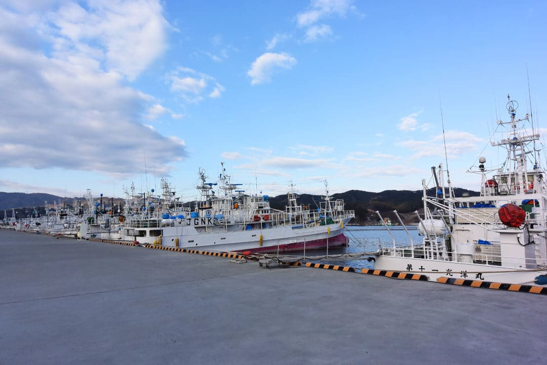 Fishing Boat in Kesennuma