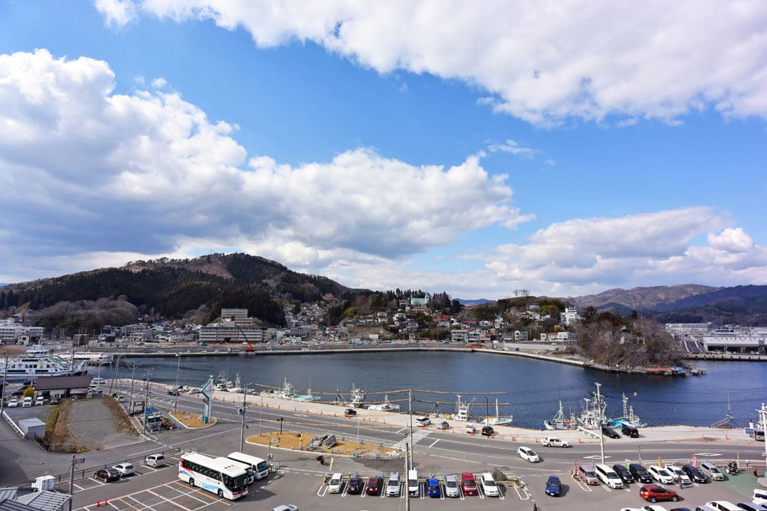 View of Kesennuma