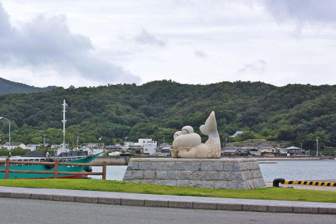 Frog Mermaid in Ikeda Port