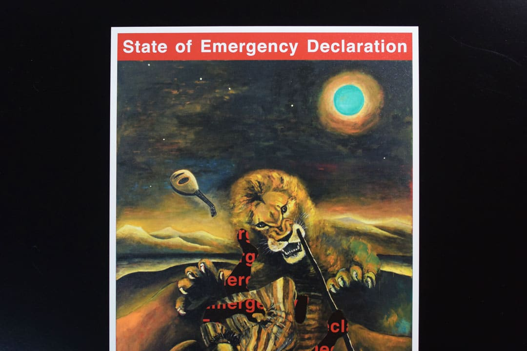 State of emergency declaration